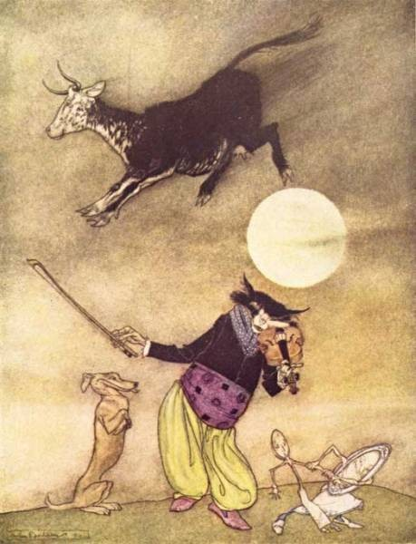Mother Goose The Cow Jumped Over the Moon
